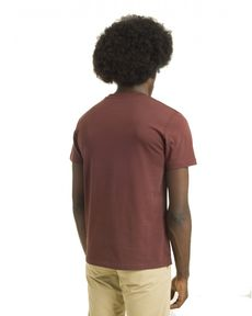 TEE-SHIRT ROUGE BURGUNDY UNLIMITED TEE