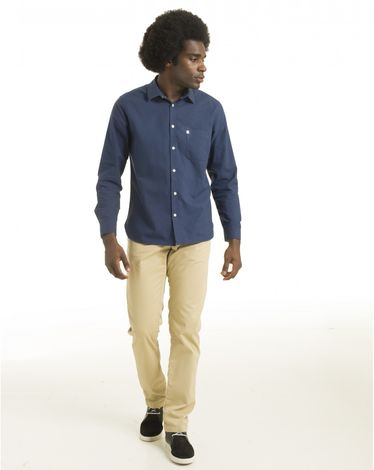 CHEMISE MIDNIGHT BLUE OXFORD TOGS