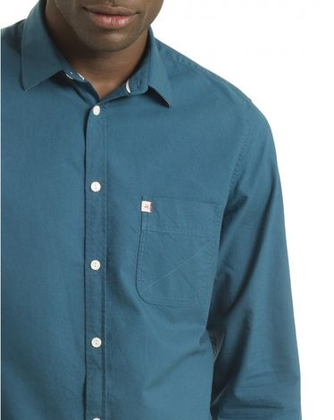 CHEMISE BLEU CANARD OXFORD TOGS