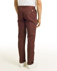 PANTALON ROUGE BURGUNDY TOGS STRAIGHT