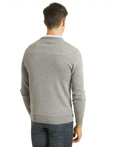 PULL GRIS CHINE FANO