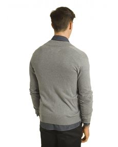 GILET GRIS CHINE FULL TOGS