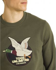 SWEAT VERT FORET TOGS UNLIMITED