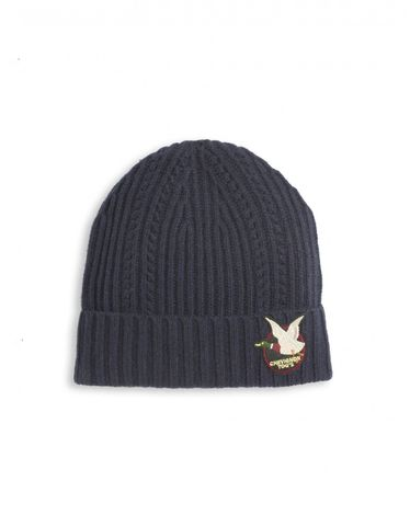 BONNETS NAVY TOGSWOOL