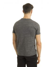 TEE-SHIRT GRIS ANTHRACITE CHIN AUTHENTIC
