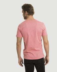 TEE-SHIRT ROSE PARROT CHINE T-TOGS V