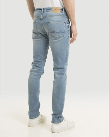 DENIM DOUBLE STONE RUB STONE SLIM