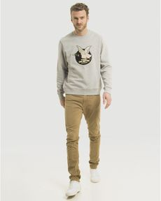 SWEAT GRIS CHINE CLAIR TOGS UNLIMITED