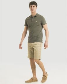 POLO VERT OLIVE CHINE O-TOGS SLIM