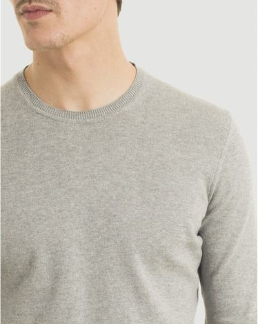 PULL GRIS CHINE CLAIR U-TOGS