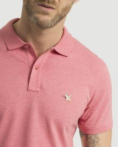 POLO ROSE PARROT CHINE O-TOGS SLIM