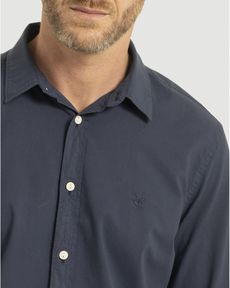 CHEMISE NAVY VOILE