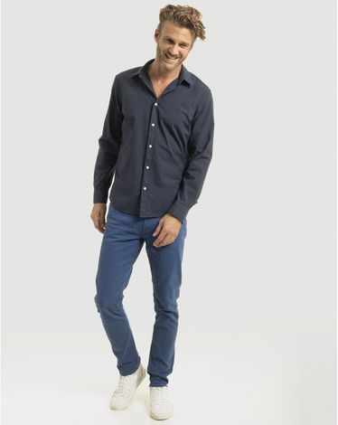 DENIM BLEU INDIGO FANCY COLOR SLIM