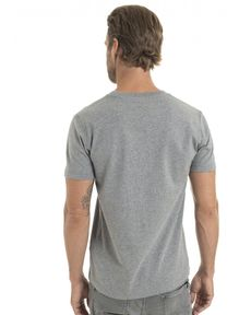 TEE-SHIRT GRIS CHINE UNLIMITED TEE FELT