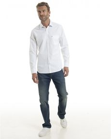 CHEMISE BLANC CL OXFORD TOGS