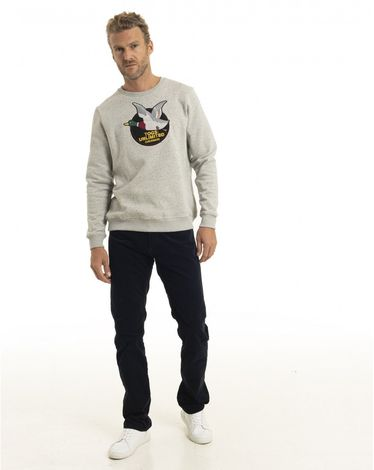 SWEAT SHIRT GRIS NEPS TOGS UNLIMITED