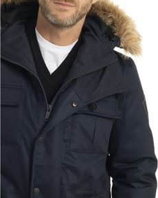 PARKA NAVY OVER