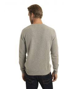 PULL GRIS CHINE CLAIR PULL CASHMERE RECYCLED