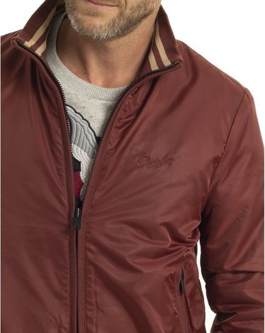 BLOUSON ROUGE BURGUNDY BLEECK