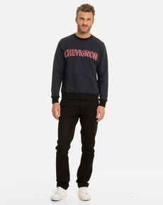 SWEAT SHIRT NAVY MARCELLO