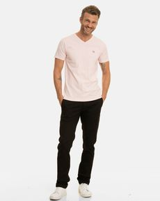 TEE-SHIRT ROSE PALE CHINE T-TOGS V