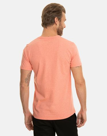 TEE-SHIRT ROSE CORAIL CHINE T-TOGS V