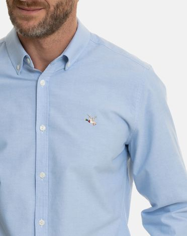 CHEMISE BLEU CLAIR NEW OXFORD TOGS