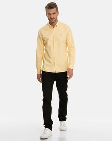 CHEMISE JAUNE CLAIR NEW OXFORD TOGS