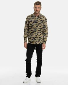 CHEMISE CAMOUFLAGE TIGER