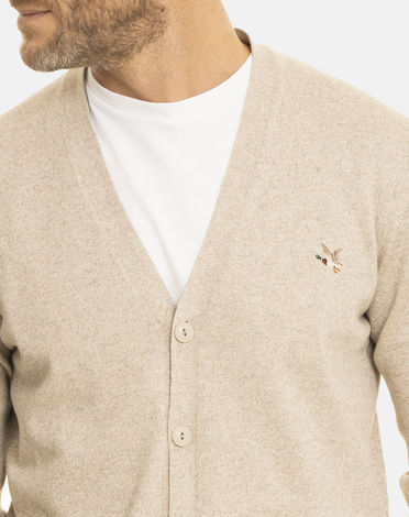 GILET BEIGE CHINO CARDI TOGS