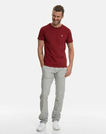 TEE-SHIRT ROUGE POURPRE T-TOGS
