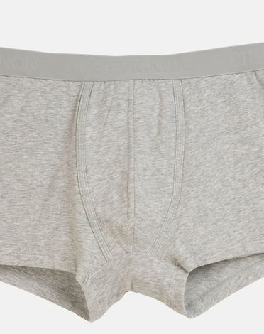 CALECON BOXER GRIS CHINE CLAIR