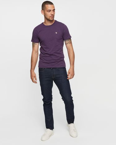 TEE-SHIRT PURPLE CHINE T-TOGS