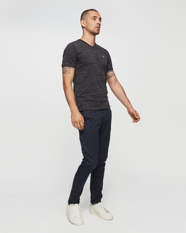 TEE-SHIRT ANTHRACITE CHINE T-TOGS V