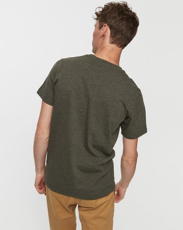 TEE-SHIRT VERT FORET CHINE UNLIMITED TEE