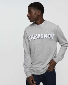 SWEAT GRIS CHINE MARCEL