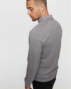 SWEAT GRIS CHINE UMBERTO