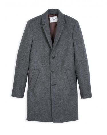 MANTEAU GRIS CHINE CHESTER