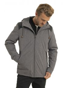 BLOUSON GRIS CHINE WINTER LAKE HEATHER GREY