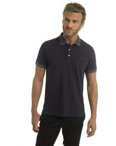 POLO NAVY HEATHER