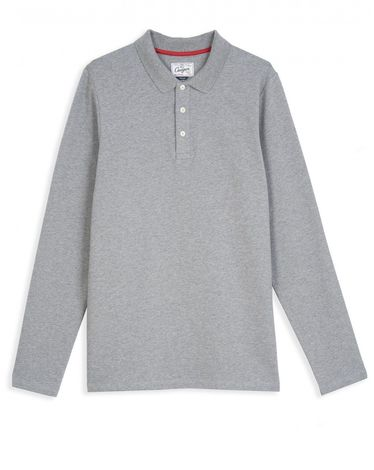 POLO GRIS CHINE JOAOS