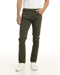 DENIM VERT FORET CHARPAK COLORS SLIM