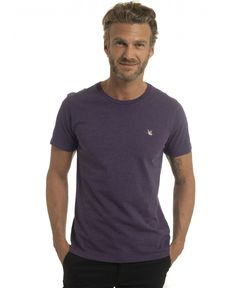 TEE-SHIRT ULTRA VIOLET CHINE T-TOGS