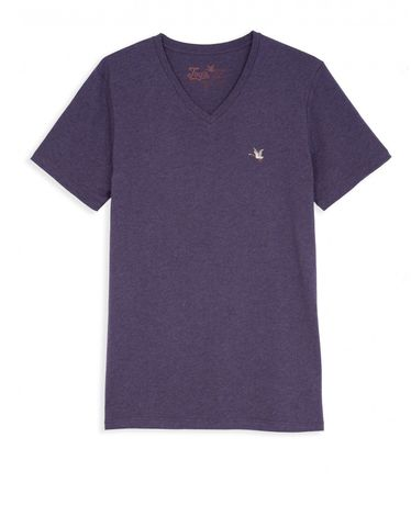 TEE-SHIRT ULTRA VIOLET CHINE T-TOGS V