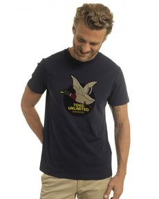 TEE-SHIRT NAVY UNLIMITED TEE FELT