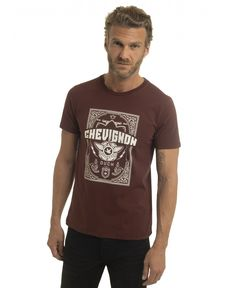 TEE-SHIRT ROUGE BURGUNDY JESS