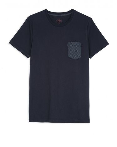 TEE-SHIRT NAVY LEAF