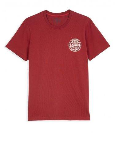 TEE-SHIRT ROUGE POURPRE JAPONESE