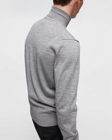 PULL GRIS CHINE CLAIR EUPHONY
