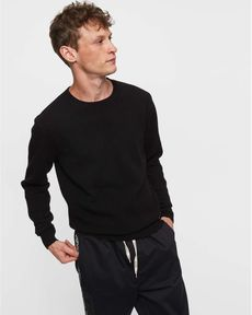 PULL NOIR PULL CASHMERE RECYCLED